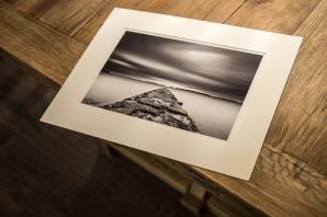 """WORN"" 20x30cm Ilford Mono Silk print"