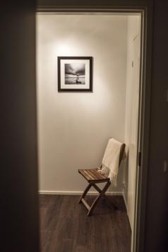 """STUMP"" 30x30cm Ilford print 40x40cm wooden frame"