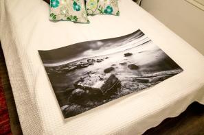 """ROCKS GETS YOU FURTHER"" 100cm wide fine art print (waiting a custom frame)"