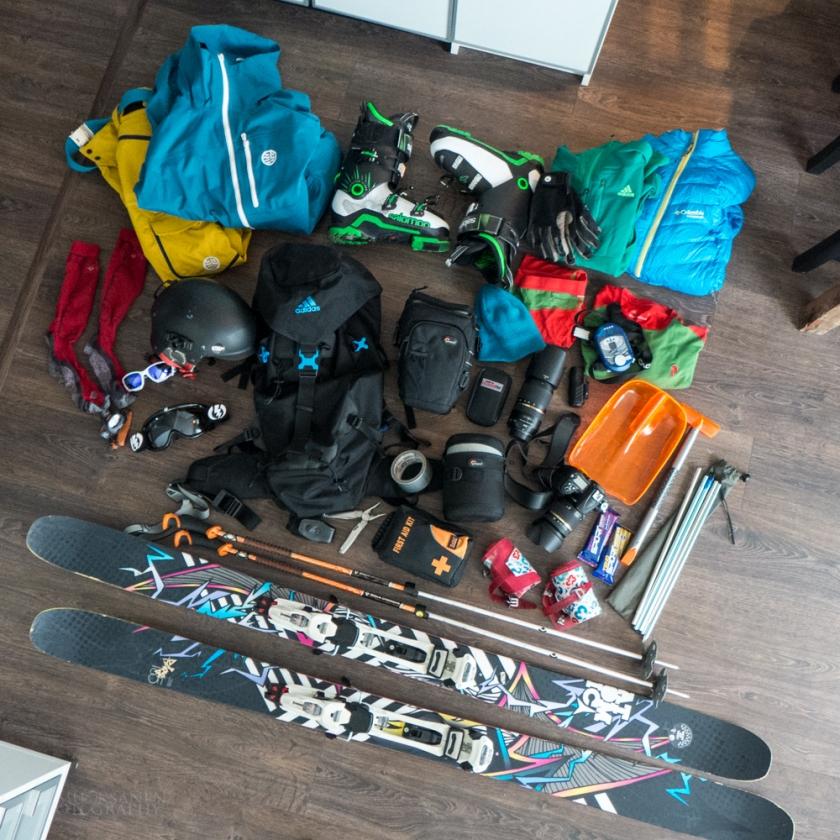 SKI TOURING GEAR