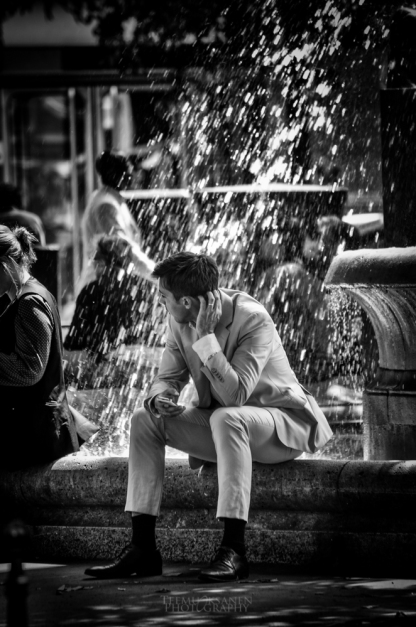 MAN & FOUNTAIN